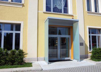 Kultur-Kongresszentrum Bad-Langensalza – Eingang
