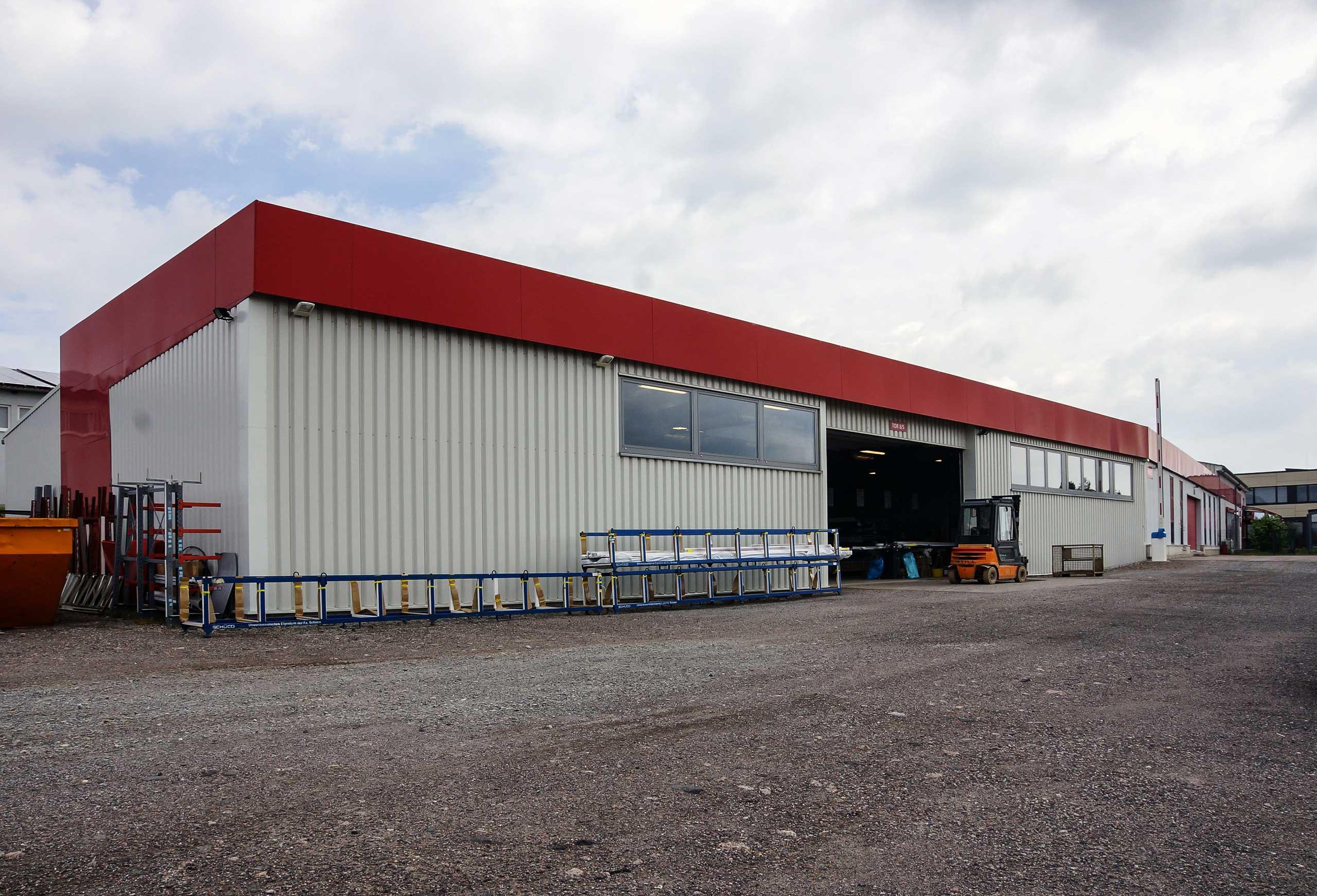 Außergewöhnlich Lagerhalle TMP | PlanKopf Architektur &NS_35