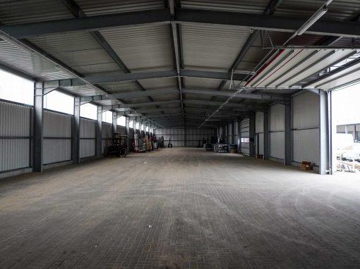 TMP Neubau Kalthalle Groß Wokern