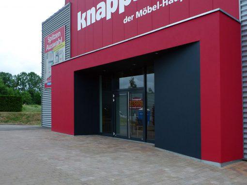 Umbau Eingang Möbelhaus